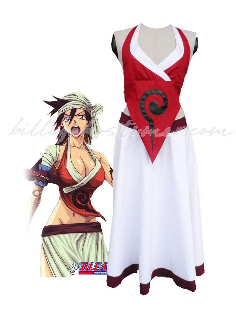 Bleach Shiba Kuukaku Cosplay Kostymer