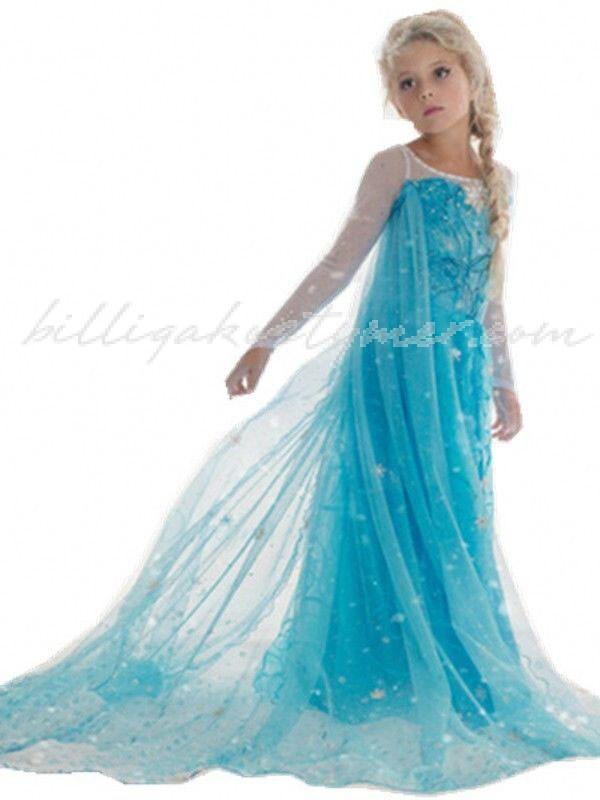 Elsa Frost Klänning Frost Prinsessklänning