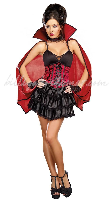 Död Sexig Vampyr Kostym För Kvinnor