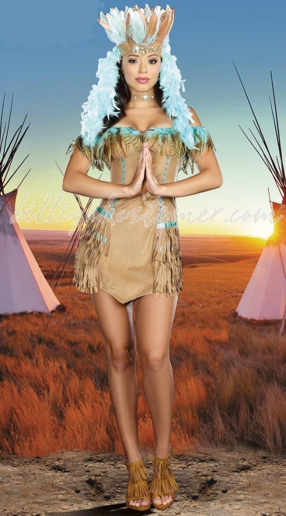Halloween axelbandslös fransar Indiska Kläder