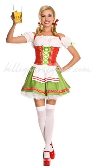 Älskling Oktoberfest Kläder Tyrolerklänning
