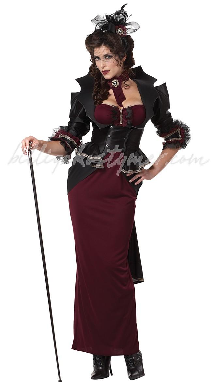 Lady Av Sätt Vampyr Kostym Dam 5a1d5fec828d8
