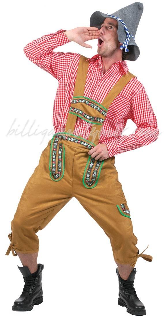 Alpin Yodeler Oktoberfest Lederhosen