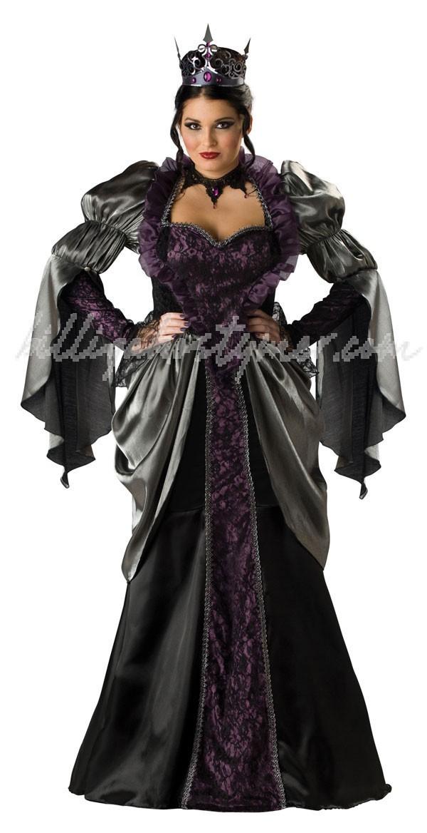 Alice i Underlandet Elite Ogudaktiga Drottning Kostym