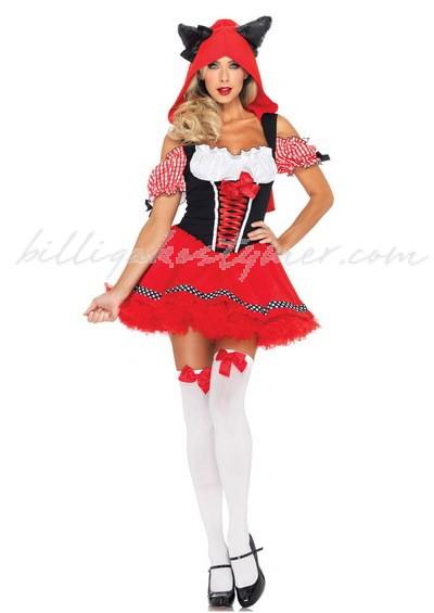 Halloween sexiga Lilla Rödluvan Kostym 4079a287fda80