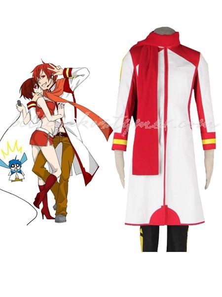 Anime Vocaloid Kaito Cosplay Kostymer