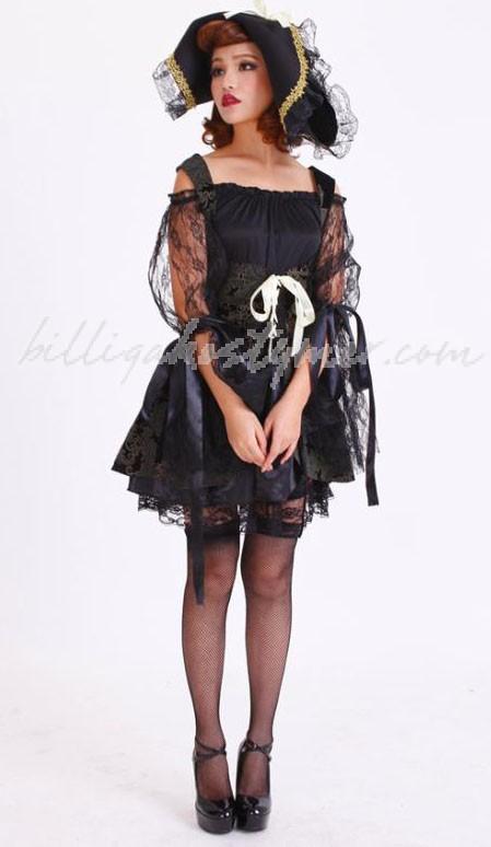 Kryddig Halloween Vampyr Häxa Kostym
