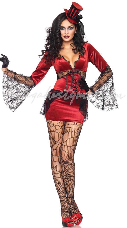 Halloween Dräkter Hals Bita Vampyr Kostym