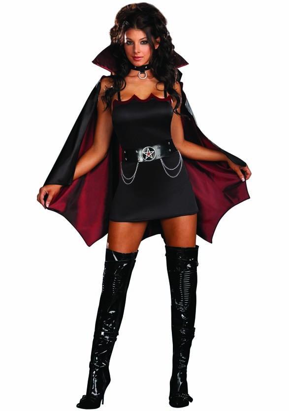 Fang Banging Fun Halloween Vampyr Kostym