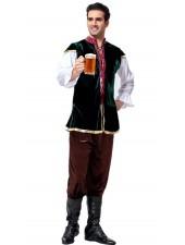 Tysk Bayerska Oktoberfest Kostym För Män