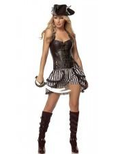 Steampunk Halloween Kostymer Piratkostym