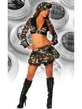 Sexig Militära Uniformer Brat Armé Kostym