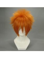 Bleach Kurosaki Ichigo Pumpkin Orange Cosplay Peruker