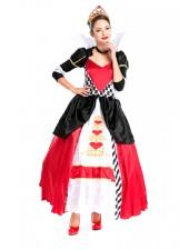 Alice i Underlandet Premier Drottning av Hjärtan Kostym