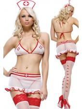 Sexiga Sjuksköterska Kostym utan lagring