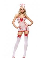 Sexiga Sjuksköterska Kostym underkläder utan lagring