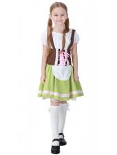 Bayersk Flicka Oktoberfest Kläder För Barn