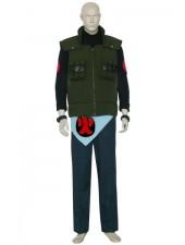 Naruto Asuma Sarutobi Cosplay Kostymer