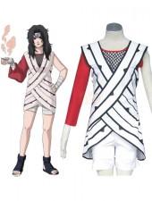 Naruto Yuuhi Kurenai Cosplay Kostymer