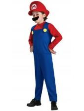 Mario Kläder Barn Super Mario Dräkt