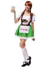Sötnos Öl Flicka Kläder Oktoberfest Kostym