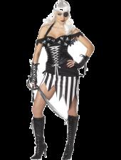 Pirat Älskarinna Kostym För Vuxna