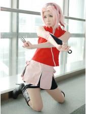 Naruto Shippuden Haruno Sakura Cosplay Kostymer