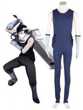 Modern Naruto Zabuza Polyester Cosplay Kostymer