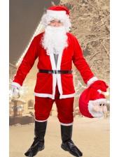 Juldräkt Claus Tomtedräkt Set