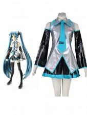 Vocaloid Super Alloy Hatsune Miku Cosplay Kostymer
