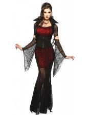 Midnatt Vixen Halloween Vampyr kostym
