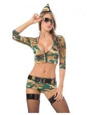 Kvällsmat Militärkläder Sexiga Sexiga Army Kläder