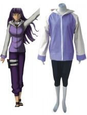 Naruto Shippuden Hinata Hyuga Cosplay Kostymer