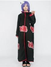 Naruto Akatsuki Konan Cosplay Kostymer